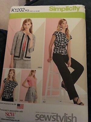 Simplicity sewing pattern K1202