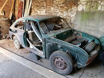 vw type 3 1969 early fastback project