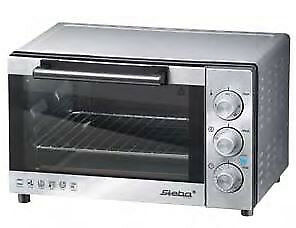 STEBA 42900 KB 19 Electric 19L 1300W Stainless steel Grill and bake oven KB 19