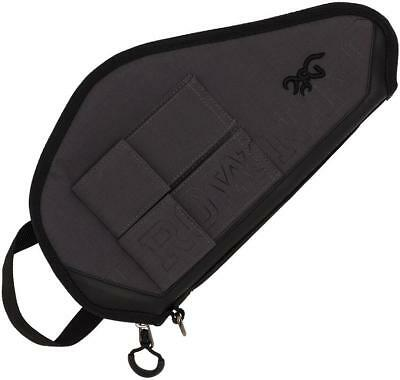 Browning Range Pro Carry Pistol Case Pouch Holder Police Charcoal