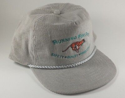 Vintage KC Exxon Benicia Refinery 1994 Running For Five Gray Hat Cap
