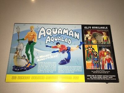 New Mint Vintage DC Direct Silver Age Aquaman And Aqualad Rare Never Opened