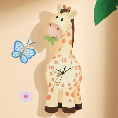 NEW Fantasy Fields by Teamson Sunny Safari Giraffe Wall Clock