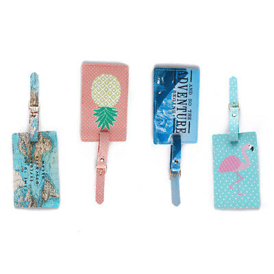 Luggage tag Suitcase name and address Label ID tag Novelty Holiday/Travel Bagtag