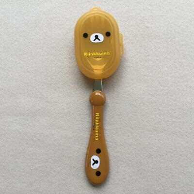 Rilakkuma Kids Stainless Steel Spork (Spoon+Fork) with CAP Made in Korea
