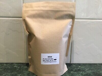 3 Kgs including bag weight MSM  99.9% excellent for Arthritis