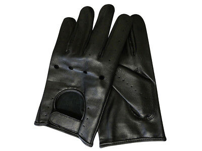 XL Size Men's Thick Leather Gloves Driving Dressing Riding Model Rk-1011-T