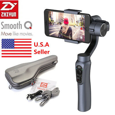 Zhiyun Smooth-Q 3 Axle Handheld Gimbal Stabilizer for Smartphone iPhone Samsung