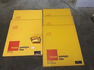 Kodak Vintage Glass Safelight Filters