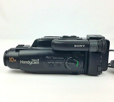 Sony Video 8 Handycam Camera Recorder CCD-FX230 8mm Camcorder Player