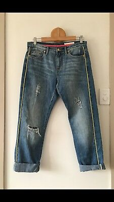 sass and bide playman distressed jean size 27