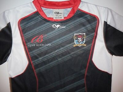 West Harbour Pirates Rugby Training Shirt Mens Small