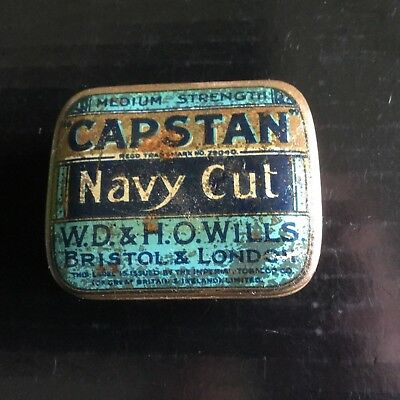 Capstan Navy Cut  Tobacco Tin ( old small size )