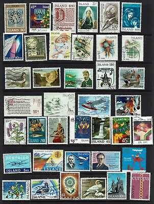 Iceland...collection....page Lot