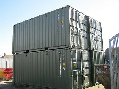 NEW 2019 ONE TRIP 20ft SHIPPING CONTAINER'S FOR SALE site store portable cabin