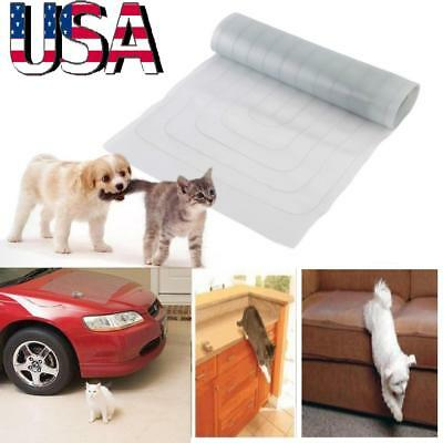 "19x47"" Electronic Pet Training Dog Cat Barrier Repellent Shock Scat Mat Pad US"