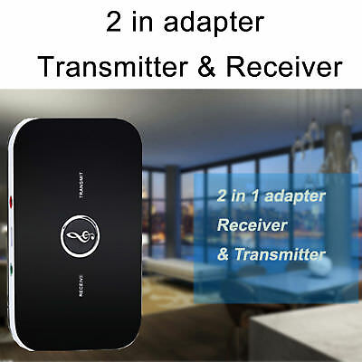 Bluetooth V4 Adattatore 2IN1 HIFI Ricevitore Trasmettitore 3.5MM Audio TV MP3 PC