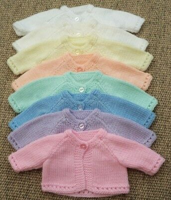 Brand New My First Baby Annabell/Little Baby Born Cardigans - 14 inch baby doll