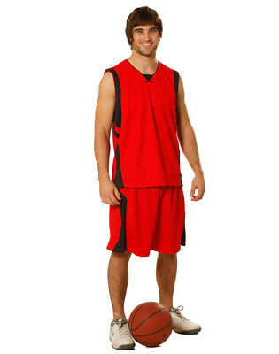 Winning Spirit Adults' CoolDry® Basketball Contrast Colour Shorts