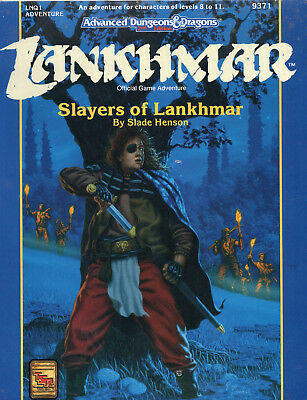 AD&D LANKHMAR  Slayers of Lankhmar  = Neu TSR-Original OVP !