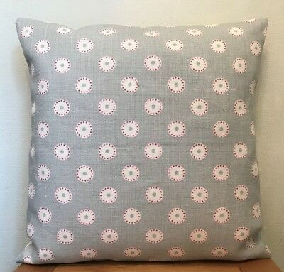 Vanessa Arbuthnott **PRETTY MAIDS** Damson Linen  Cushion Cover 40cm