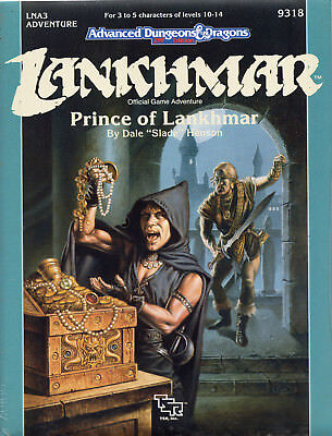 AD&D LANKHMAR * Prince of Lankmar * = Neu TSR-Original OVP !