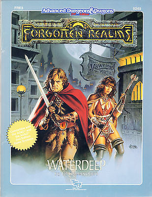 AD&D-FR3: WATERDEEP - Original-Adventures NEU