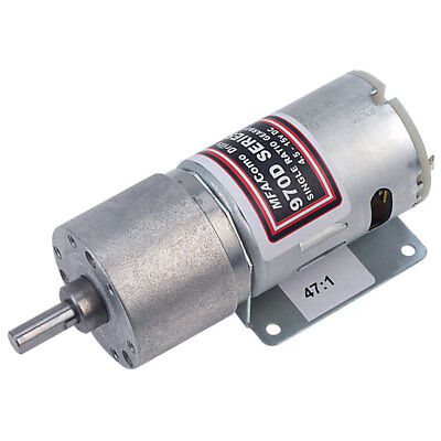 MFA 970D471 Single Ratio Metal Gearbox 47:1