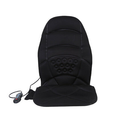 Electric Massage Seat Cushion with Heat Back Massager Chair for Home and Car Use