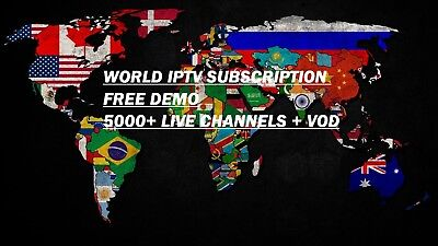 LATINO SPANISH ITALY Russian Arabic - Iptv 3500+ Live Tv - $7 00
