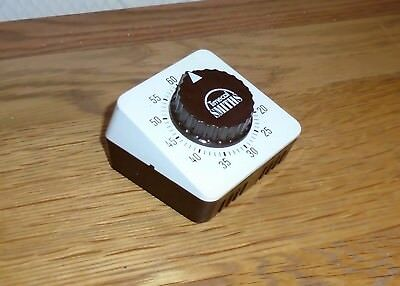 Vintage SMITHS TIMECAL Clockwork 1 Hour Kitchen Timer. Made in West Germany