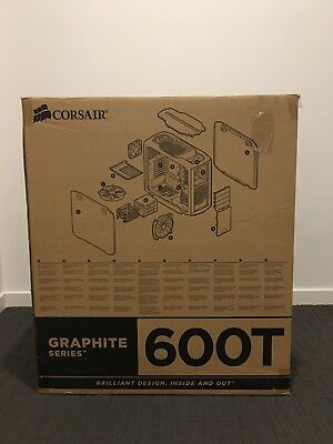 Corsair Special Edition White Graphite Series™ 600T Mid-Tower Case CC600TWM-WHT