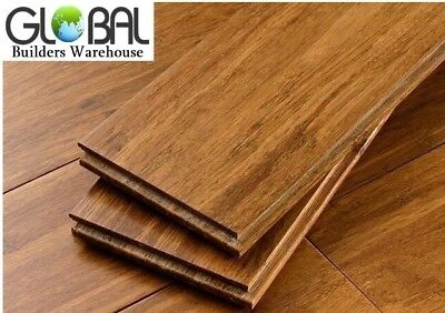 14mm Strand Woven bamboo flooring plank sample - NO glue click lock. 5 colors.