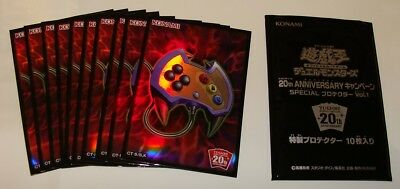 Yugioh Konami Official Card Sleeves, Enemy Controller 10 Sleeves Promo