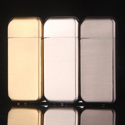 Hot Selling Ultrathin Metal Cigarette Lighter Flame Refillable Cigar Butane Gas