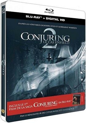 Blu ray steelbook Conjuring 2 Le cas Enfield inclus The Conjuring 1 NEUF avec VF