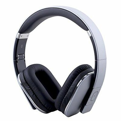 August Bluetooth Stereo Headphone Wired and Wireless Dual-use EP650 Silver New