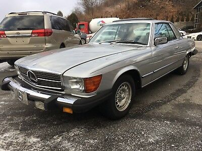 1979 Mercedes-Benz SL-Class  1979 Mercedes-Benz SLC 450