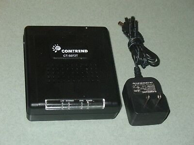 single port ethernet router Comtrend CT-5072T ADSL2