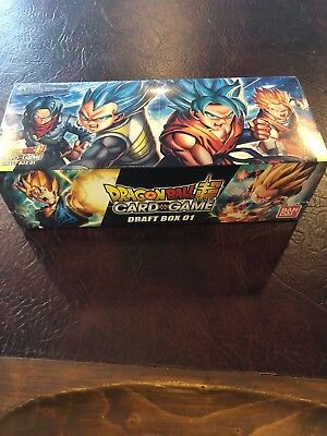 Dragon-Ball Super Card Game Draft Box 01: Galactic Battle + Union Force: Z 1 TCG