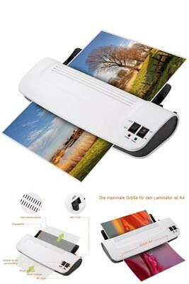 Thermal Hot Cold Laminator Machine Pack Warms Up Laminating Pouches Sheets New