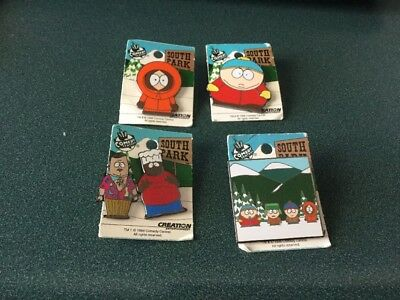 Pin  South Park Lot Of 5 1998  SOUTH PARK   SERIES COMEDY CENTRAL  Creation