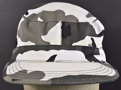Camouflage White Snow Military Cap Combat Army Cadet hat cap Fitted