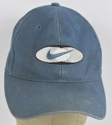 Blue Nike Swoosh Logo Sports Embroidered Baseball hat cap Adjustable Snapback
