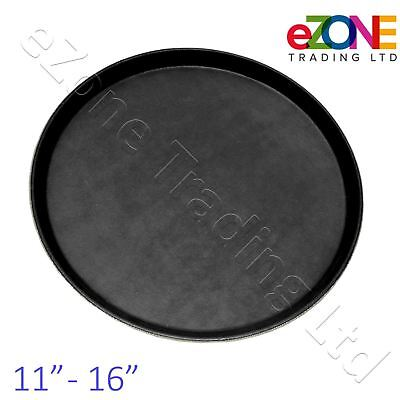 Non-Slip Round Tray Bar Pub Café Waiter Serving Dinner Drinks Food Platter