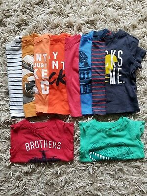 Toddler Boy 10 Piece 2T Old Navy Tee/Tank Lot Bundle EUC