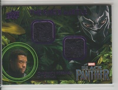 2018 Upper Deck Marvel Black Panther The King's Mantle Memorabilia #TC T'Challa