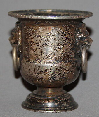 Vintage England Viners Sheffield Silver Plated Goblet Vase Candle Holder