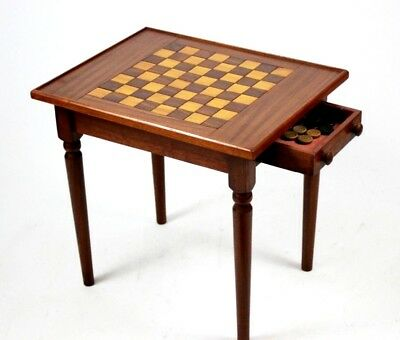 Vintage Mahogany Games Table - FREE Shipping [PL4465]