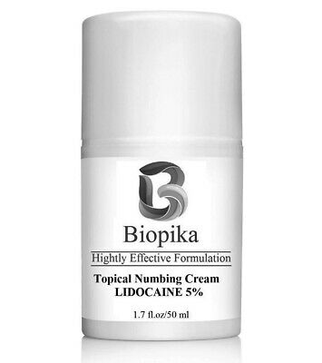 BIOPIKA, Numbing 5% (LIDOCAINE) Local Anesthetic Provides Pain Relief - 1.7 oz
